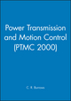 Power Transmission and Motion Control: PTMC 2000 (1860582648) cover image