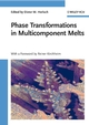 Phase Transformations in Multicomponent Melts (3527319948) cover image