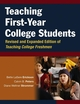 Teaching First-Year College Students, Revised and Expanded Edition of Teaching College Freshmen (0470614749) cover image