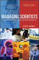 Managing Scientists: Leadership Strategies in Scientific Research, 2nd Edition (0471226149) cover image