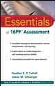 Essentials of 16PF Assessment (0471234249) cover image