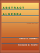 Abstract Algebra, 3rd Edition (0471433349) cover image