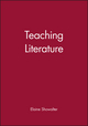 Teaching Literature (0631226249) cover image