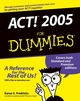 ACT! 2005 For Dummies (0764579649) cover image