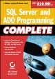 SQL Server and ADO Programming Complete (0782129749) cover image