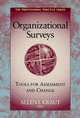 Organizational Surveys: Tools for Assessment and Change (0787902349) cover image