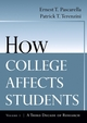How College Affects Students: A Third Decade of Research, Volume 2 (0787910449) cover image