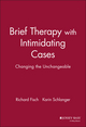 Brief Therapy with Intimidating Cases: Changing the Unchangeable (0787943649) cover image