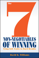 The 7 Non-Negotiables of Winning: Tying Soft Traits to Hard Results (1118571649) cover image