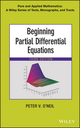 Beginning Partial Differential Equations, 3rd Edition (1118629949) cover image