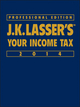 J.K. Lasser's Your Income Tax Professional Edition 2014 (1118734149) cover image