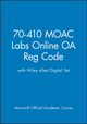 70-410 MOAC Labs Online OA Reg Code with Wiley eText Digital Set (1118756649) cover image