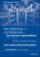 Tax Planning and Compliance for Tax-Exempt Organizations, Fifth Edition 2015 Cumulative Supplement (1119203449) cover image