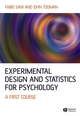 Experimental Design and Statistics for Psychology: A First Course (1405100249) cover image