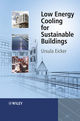 Low Energy Cooling for Sustainable Buildings (047069744X) cover image