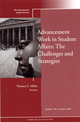 Advancement Work in Student Affairs: The Challenges and Strategies: New Directions for Student Services, Number 130 (047088004X) cover image