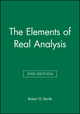 The Elements of Real Analysis, 2nd Edition (047105464X) cover image