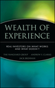 Wealth of Experience: Real Investors on What Works and What Doesn't (047122684X) cover image