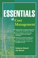 Essentials of Cost Management (047122734X) cover image