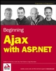 Beginning Ajax with ASP.NET (047178544X) cover image