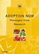 Adoption Now: Messages from Research (047185204X) cover image