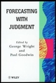 Forecasting with Judgment (047197014X) cover image