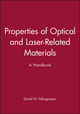 Properties of Optical and Laser-Related Materials: A Handbook (047197384X) cover image