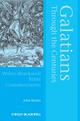 Galatians Through the Centuries (063123084X) cover image