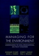 Managing for the Environment: Understanding the Legal, Organizational, and Policy Challenges (078791004X) cover image