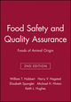 Food Safety and Quality Assurance: Foods of Animal Origin, 2nd Edition