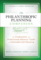 The Philanthropic Planning Companion: The Fundraisers' and Professional Advisors' Guide to Charitable Gift Planning (111800454X) cover image