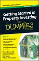 Getting Started in Property Investment For Dummies - Australia, Australian Edition (111839674X) cover image