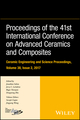 Proceedings of the 41st International Conference on Advanced Ceramics and Composites, Volume 38, Issue 2 (111947454X) cover image