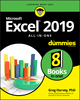 Excel 2019 All-in-One For Dummies (111951794X) cover image