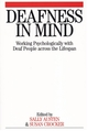 Deafness in Mind: Working Psychologically with Deaf People Across the Lifespan (186156404X) cover image