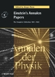 Einstein's Annalen Papers (352740564X) cover image