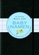 Little Black Book der Babynamen (352767974X) cover image