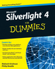Microsoft Silverlight 4 For Dummies (0470524650) cover image
