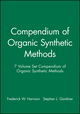 Compendium of Organic Synthetic Methods, 7 Volume Set (0471579750) cover image