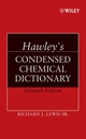 Hawley's Condensed Chemical Dictionary, 15th Edition (0471768650) cover image