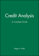 Credit Analysis: A Complete Guide (0471887250) cover image