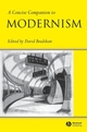 A Concise Companion to Modernism (0631220550) cover image