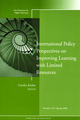 International Policy Perspectives on Improving Learning with Limited Resources: New Directions for Higher Education, Number 133 (0787987050) cover image