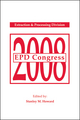 EPD Congress 2008: Proceedings of Sessions and Symposia Sponsored by the Extraction and Processing Division (EPD) (0873397150) cover image