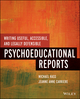 Writing Useful, Accessible, and Legally Defensible Psychoeducational Reports (1118205650) cover image