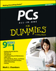 PCs All-in-One For Dummies, 6th Edition (1118280350) cover image