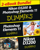 Nikon D3200 and Photoshop Elements For Dummies eBook Set (1118604350) cover image