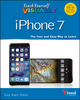 Teach Yourself VISUALLY iPhone 7: Covers iOS 10 and all models of iPhone 6s, iPhone 7, and iPhone SE (1119294150) cover image