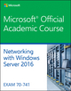 70-741 Networking with Windows Server 2016 (1119298350) cover image