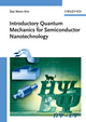 Introductory Quantum Mechanics for Semiconductor Nanotechnology (3527409750) cover image